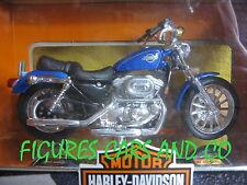 MOTO 1/18  HARLEY DAVIDSON XLH 1200 SPORTSTER BOITE MAISTO