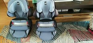 Kiddy Kindersitze 9-18-36 kg. Mit Tisch. Liegefunktion . 2 st. Zwillinge
