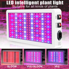 LED Grow Light Full Spectrum with Veg/Bloom Switches Waterproof Growing Light