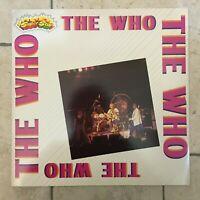 """The Who _ Vinile LP 33"""" compilation _ Curcio 1982 come nuovo"""