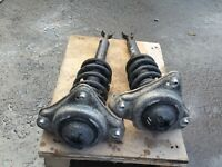 AUDI A6 C6 4F 2.0TDI ESTATE 2006 - PAIR OF FRONT SHOCK ABSORBERS