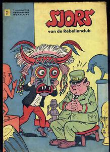 SJORS van de Rebellenclub, Nr. 31, 1.8. 1964, Comic-Journal Haarlem Niederlande
