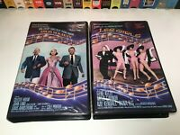 Cole Porter MGM Musicals VHS Lot of 2 High Society & Les Girls Bing Crosby