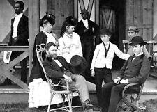 1870-Post Civil War-President Ulysses Grant & Family-Wife Julia Dent-4 Children