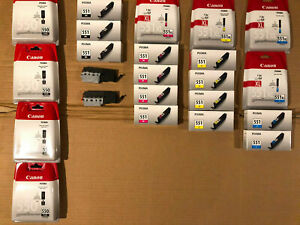 CARTUCCE CANON ORIGINALI PGI-550 XL CLI-551 XL PIXMA IP 7250 8700 8750
