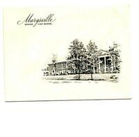 Marysville OH High School 1959 Commencement Invitation Greeneisen David Susan