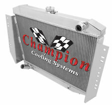 Champion 3 Row Aluminum Radiator for 1972 - 1979 Jeep J-Series V8 Engine