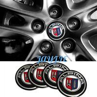 4PCS 65MM Car Wheel Center Hub Cap Cover Emblem Badge Sticker fit for Alpina