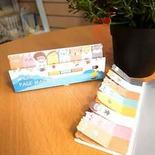 Sticky Stick Flag Note 8 Colour Reading Marker Memo Journer Diary Message Note B