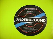 "ITALO DISCO - ANTICAPPELLA - EVERYDAY - 12"" VINYL EXCELLENT 1991"