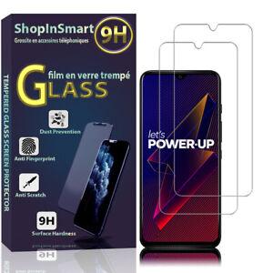 """2X Schutzglas Für Wiko Power U10/ U20 6.82"""" W-V745 Echtglas Display Schutzfolie"""