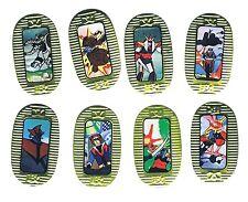 RARE Soul of Chogokin Brave Raideen 勇者ライディーン Original Transformers Menko SET LOT