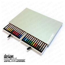 BRUYNZEEL - Haute Qualité & durable - PASTEL CRAYONS - ARTISTE Box 24