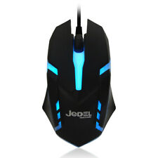 More details for jedel pro gaming mouse usb wired gamer 7 colour led for pc laptop ps4 xbox new