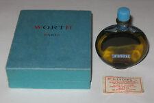 Vintage Worth Perfume R Lalique Bottle/Presentation Box JE Reviens 1 OZ Sealed