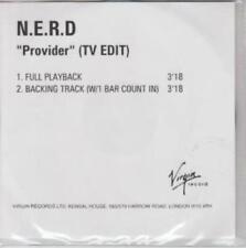 N*E*R*D: Provider: TV Edit PROMO w/ Artwork MUSIC AUDIO CD Full Playback Backing