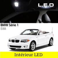Kit ampoules à LED pour l'éclairage intérieur blanc BMW série 1 E88 cabriolet