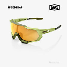 100% SPEEDTRAP Cycling UV Sunglasses MAT METALLIC VIPERIDAE/BRONZE MULTI MIRROR