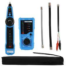 New Listingtelephone Wire Tracker Rj11rj45 Tracer Toner Ethernet Lan Network Cable Tester