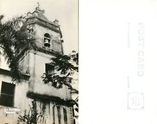 PANAMA BELL TOWER ANTIQUE REAL PHOTO POSTCARD RPPC