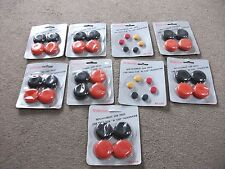 JOB LOT OF 9 x BUBBLE CARDS  VINTAGE WALTHAM HEADPHONE EAR PADS NEW OLD STOCK
