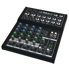 Mackie Mix Series Mix8 Compact 8-Channel Studio Live EQ Professional DJ Mixer