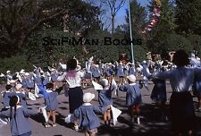 KODACHROME 35mm Slide Asia Japan? Children Playground Uniforms Fashion 1970s?