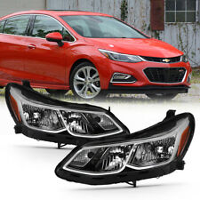 16 17 18 Chevy Cruze Sedan Replacement Headlight Signal Lamp Assembly Left+Right