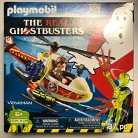 PLAYMOBIL Real Ghostbusters Venkman with Helicopter Building Set 9385 With Ghost