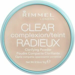 Rimmel Clear Complexion Clarifying Pressed Face Powder - 021 Transparent