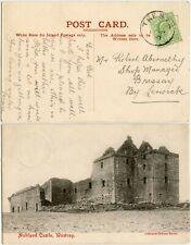 More details for shetland islands 1910 tresta postmark to bressay noltland castle westray orkney