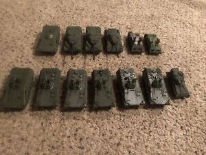 Lot of (13) 1/87 Scale ROCO DBGM Military Vehicles - See Pictures