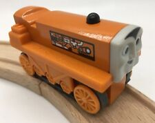 Thomas Wooden Railway Terence 2003 MINT Vintage Train Set Farm Tractor Treads