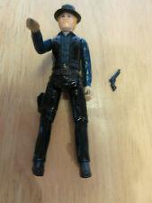 """1979 Butch and The Sundance Kid Kenner figure 3 3/4"""" Sundance w/gun"""
