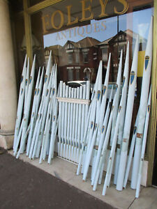 Selection Of Architectural Painted Wooden Organ Pipes