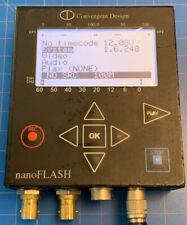 Convergent Design nanoFlash HD/SD-SDI / HDMI Recorder/Player