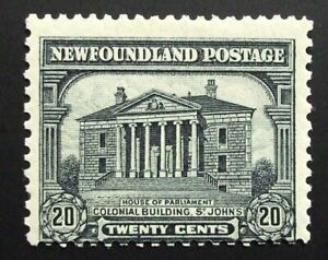 Newfoundland Scott #157, MLH mint lightly hinged