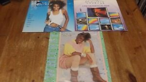 """3 x Whitney Houston 12"""" Vinyl Singles 45rpm How Will I Know / One Moment in Time"""