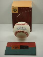 ALBERT BELLE UDA UPPER DECK AUTHENTICATED SIGNED BASEBALL AUTOGRAPHED