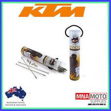 Rear Wheel Spoke Kit Set 19 Inch 304 Stainless Steel KTM 250sx 250 SX 98 to 14
