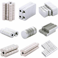Lots 5-100pcs Strong N35 Magnets Neodymium Cube Disc Ring Square Machinery Tool