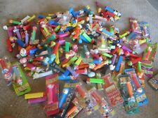HUGE LOT Of 200 + Pez Dispensers -