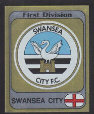 Panini - Football 82 - # 258 Swansea Foil Badge