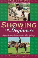 Showing for Beginners - guide for horse show riders - hunter jumper basics