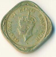 COIN / INDIA / 1/2 ANNA 1946 GEORGE V.  #WT7581