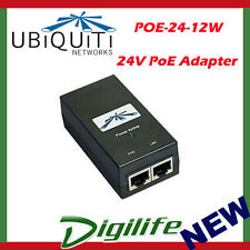 Ubiquiti POE adapter Injector 24VDC 12W POE-24-12W