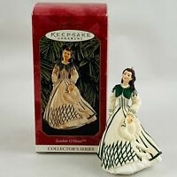 Hallmark Scarlett O'Hara Ornament #3 Collectors Series Honeymoon Dress 1999 GWTW