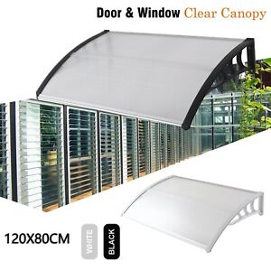 DoorCanopy Awning Shelter Front Back Outdoor Porch Patio Window Roof Rain Cover