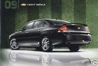 2009 Chevrolet Impala and SS 12-page Original Car Dealer Sales Brochure