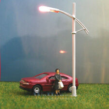 5 x N Scale 12V Street Lights Railroad Lamp posts Model Train Lamps #W111N
